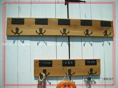 Zakka деревянные вешалка для одежды крюк 5 Yigou дерево гобелены ряд крючками для одежды крючкикупить в магазине yf1987наAliExpress