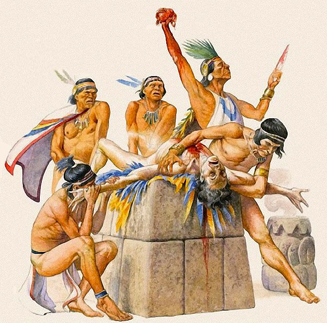 43 best Aztecs Sacrifice images on Pinterest | Aztec ...