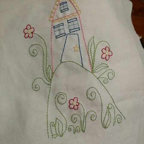 Embroidery design by Lisa Lydia Treasures