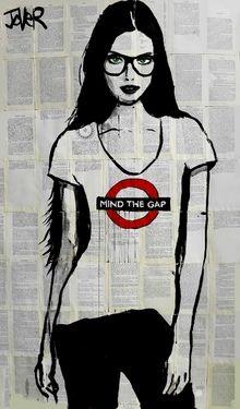 "Saatchi Art Artist Loui Jover; Drawing, ""the londoner (SOLD)"" #art"