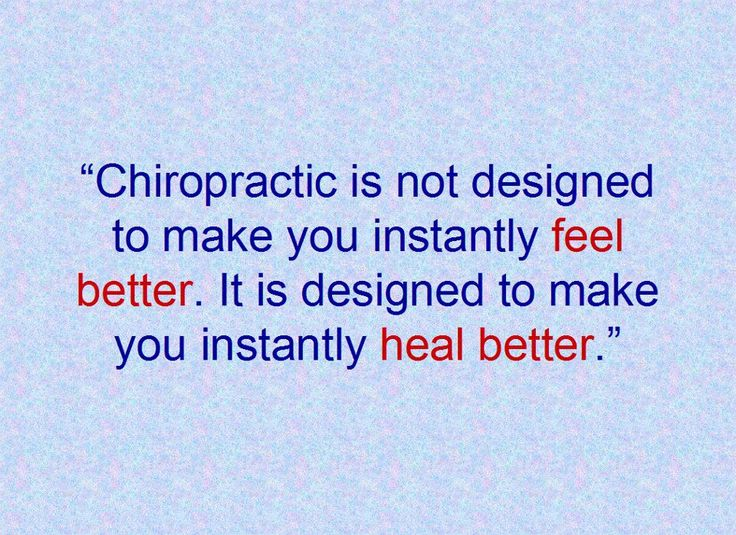 Chiropractic Quotes And Sayings Quotesgram