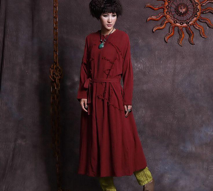 Купить Весна осень женщины твердые цвета длинные пальто с длинным рукавом классический хлопок белье кардиган траншеи большой размер тонкая верхняя одежда 850466и другие товары категории Тренчив магазине NINI'S CLUBнаAliExpress. 850466
