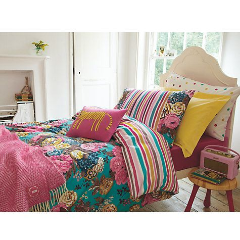 Buy Joules English Garden Duvet Cover Online at johnlewis.com