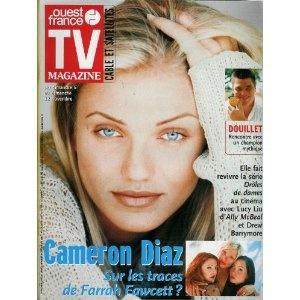 TV Magazine Ouest-France (n°17035) du 03/11/2000 - Cameron Diaz - ... [Magazine mis en vente par Presse-Mémoire]
