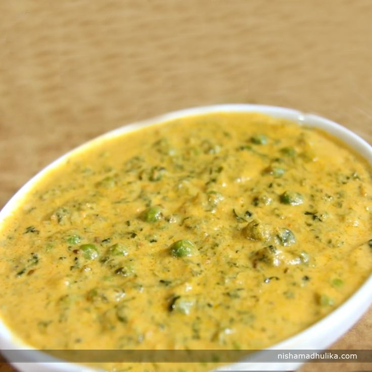 Punjabi methi matar malai is prepared with fenugreek leaves and green peas cooked in rich thick gravy of cream and few spices. Recipe in English- http://indiangoodfood.com/1856-methi-matar-malai-recipe.html ( copy and paste link into browser)  Recipe in Hindi- http://nishamadhulika.com/sabzi/taridar/methi-matar-malai-recipe.html ( copy and paste link into browser)