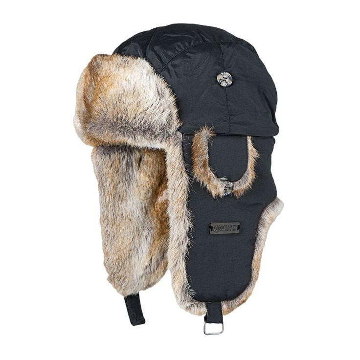 Barts Trapper Hats - Barts Kamikaze Trapper Hat - Black