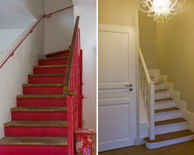 Les 25 meilleures id es de la cat gorie contremarches - Peindre contremarche escalier ...
