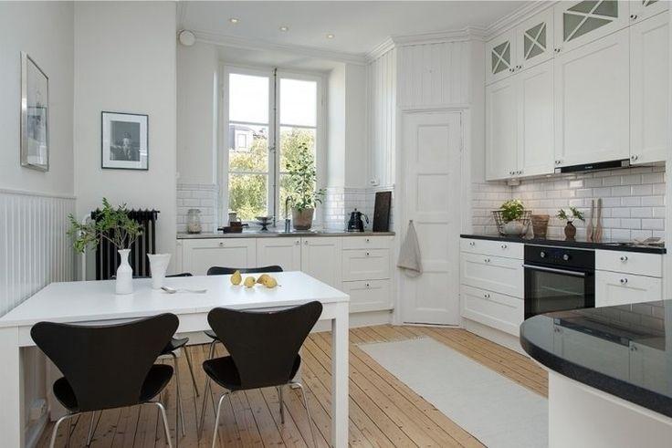Дизайн кухни площадь 16 кв. м вполне достаточна для различных вариантов кухонного интерьера. Ее можно хорошо осветить, выбрать разные цветовые решения, расставить мебель и бытовые приборы по своему вк...