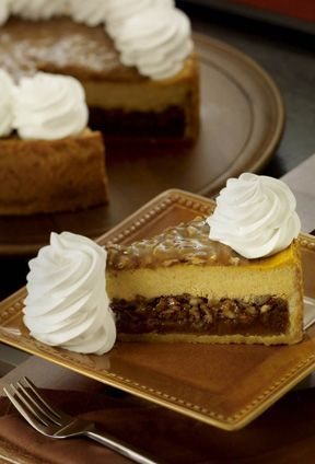 Recipes-Cheesecake Factory pumpkin pecan cheesecake