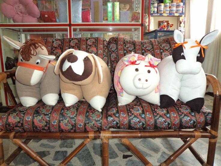almohadas de animalitos