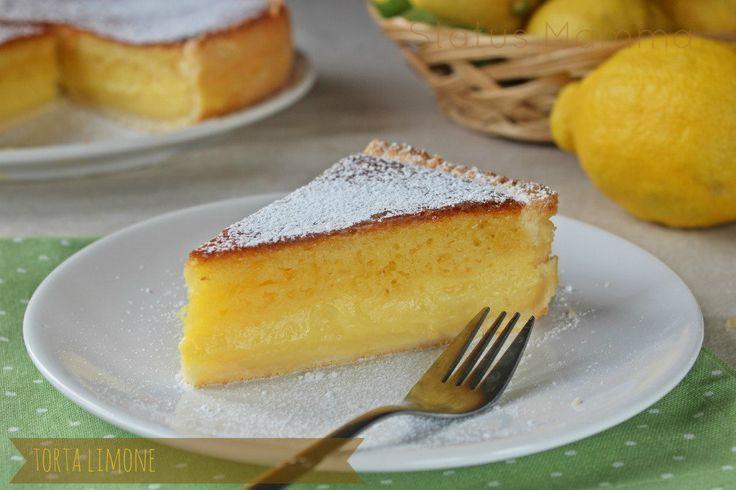 Torta al limone simil Mulino bianco: Oggi un dolcetto famoso che è diventato casalingo proprio per la sua bontà, un guscio di frolla che racchiude una golosa torta margherita separate semplicemente da una golosa crema.