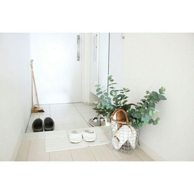 susaayuさんの、玄関/入り口,シンプル,マンションインテリア,ユーカリ,整理
