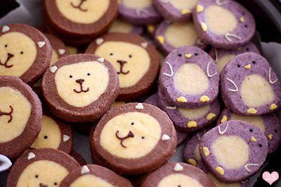 Lion&Penguin Cookies