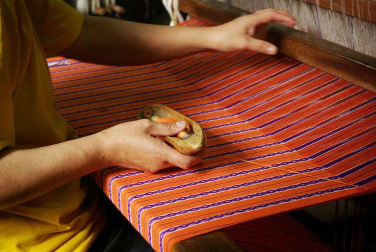 Montanosa cloth-weaving in Baguio