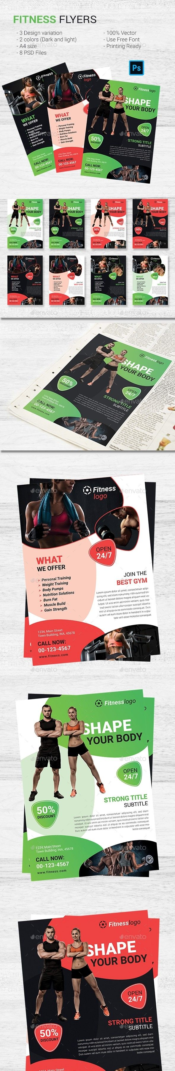 Advertising Aerobic Beauty Body Builng Bodycombat Bodypump Cardio Design
