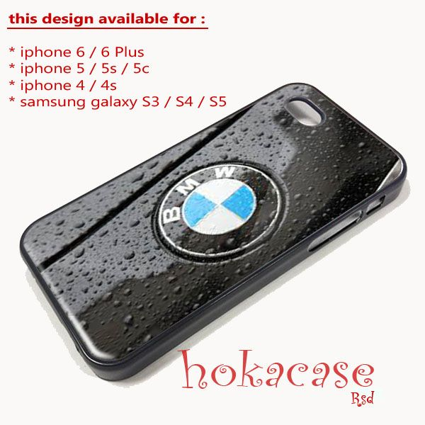 Black Phone Case: Apple iPhone 4 4s 5 5s 5c 6 6Plus Samsung Galaxy S3 ...