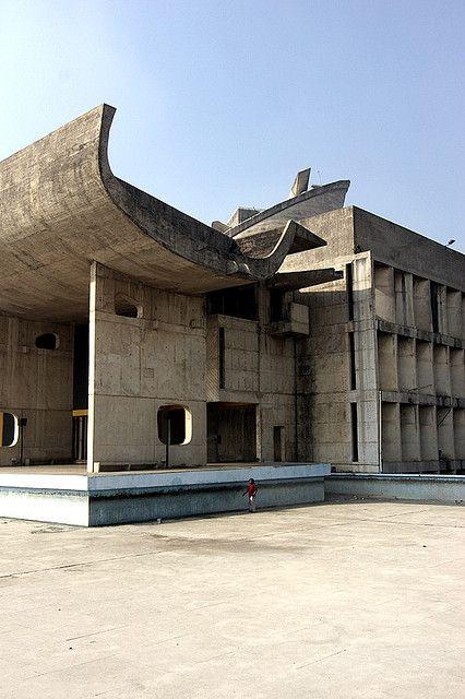 Le Corbusier -Chandigarh.