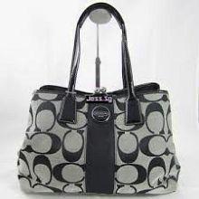 Gorgeous Coach Purple Grape Leather Shoulder Crossbody Hobo Tote Bag Purse   eBay