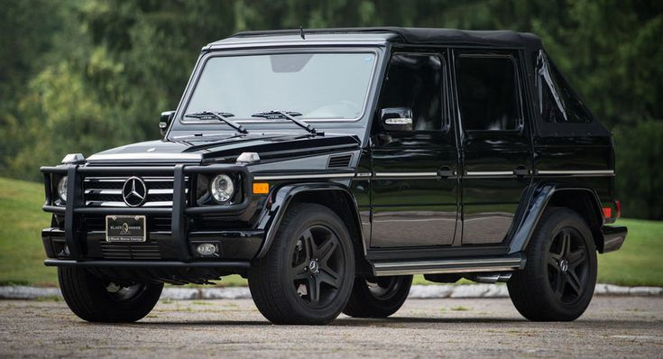 Bespoke Soft-Top Mercedes G55 AMG Can Be Yours For $118000