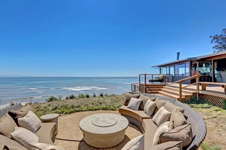 Spectacular Oceanfront Home Bolinas, CA  Spectacular oceanfront home with panoramic views from San Francisco, to Stinson, to Duxbury reef. Designed by famous Bay Area Architect Edward B. Page and sited on 2 acres with large fenced in level yards, only a short walk to the beach, and town.  https://www.airbnb.com/rooms/4334488