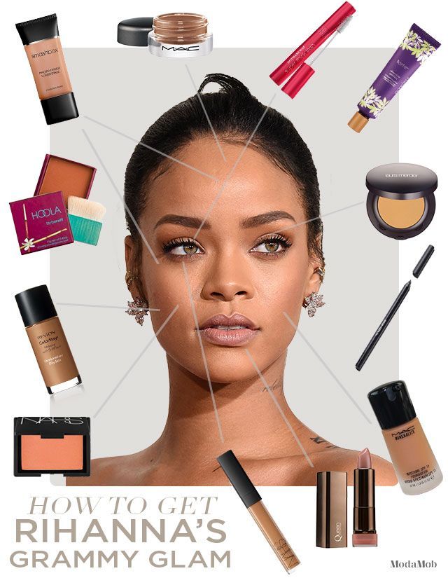 How to Get Rihanna's Beauty Look at Home #Rihanna #Valentinesdaymakeup