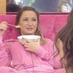 Sam Faiers in the bedroom
