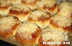 Булочки с посыпкой, sladkaya vypechka i deserty pirozhki pirogi