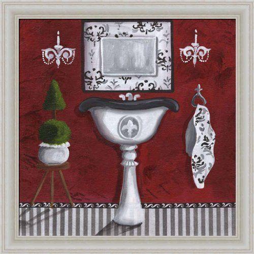 Pin by niketa bodeeka hassan on diva bathroom pinterest for Bathroom paintings amazon