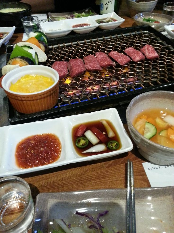 Quarters Korean BBQ - Los Angeles, CA, United States. The cheese sauce!