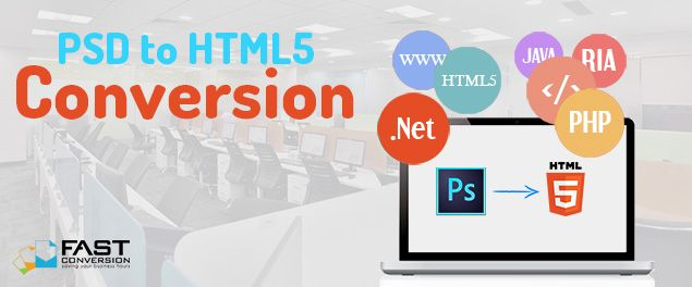PSD to HTML5 conversion is the latest web strategy that is implemented by leading industries all over the world. Adobe Photoshop supports PSD file format. Now,