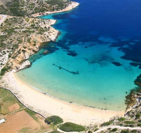 Kedros Beach. Donoussa island, Cyclades, Greece. - Selected by www.oiamansion.com