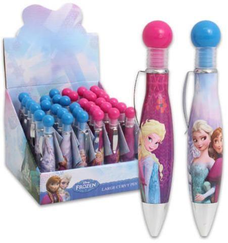 Disney Frozen Curvy Pen Display - 288 Units