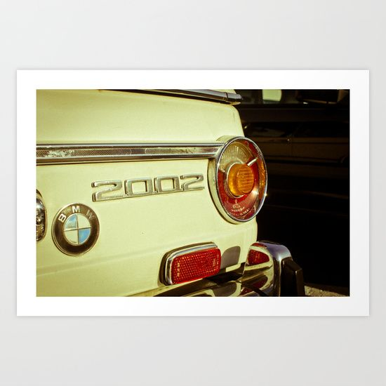 Buy BMW 2002 by Grafiko as a high quality Art Print. Worldwide shipping available at Society6.com. Just one of millions of products available.