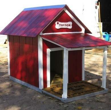This dog house is cute. Cool Doghouses - 10 Luxury Abodes for Pampered Pets - Bob Vila