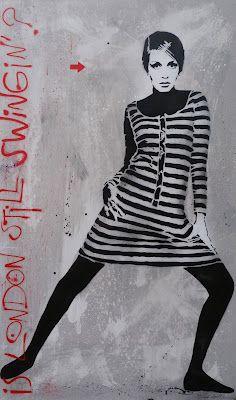 jeff aerosol // street art graffiti - stencil art