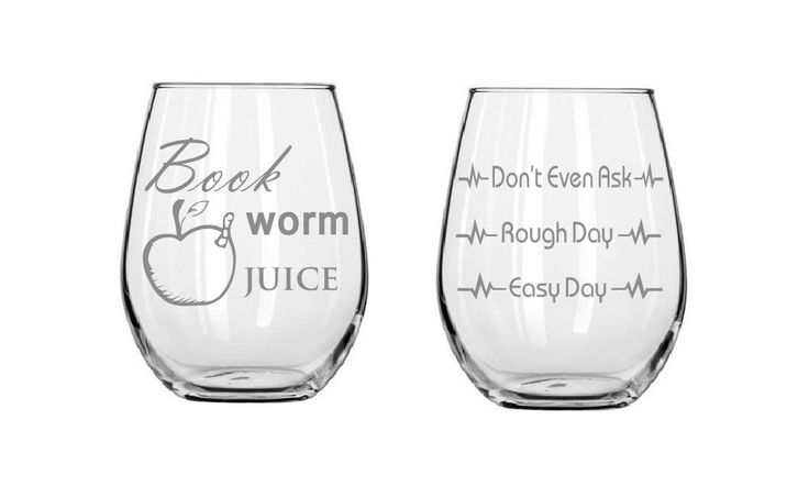 Good day Bad day glass, Etched wine glasses,Teacher glass,Bookworm, birthday gifts,Funny glass,Gifts,Christmas gifts,Etched gifts by MileStoneArtworks on Etsy