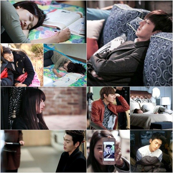 """""""The Heirs"""" Cast Falls Asleep Anywhere and Everywhere"""