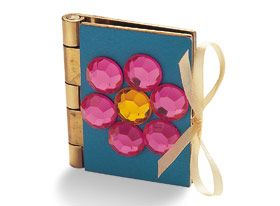 make a beautiful mini princess story book out of old door hinges.  go here: http://family.go.com/crafts/craft-594584-jeweled-scrapbook-t/