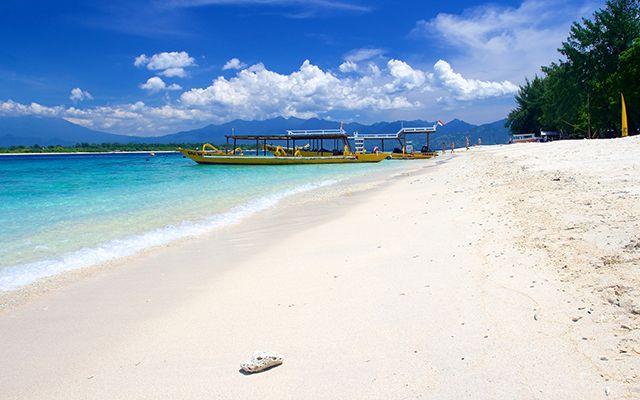 Les iles Gili, comme Trawangan, offrent les plus ravissantes plages d'Indonésie…