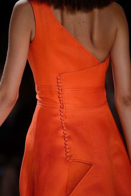 Bright Orange+Chanel=Keeper!