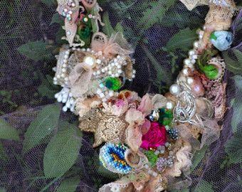 Wearable art. Bohemian romantic. Altered couture. by FleursBoheme