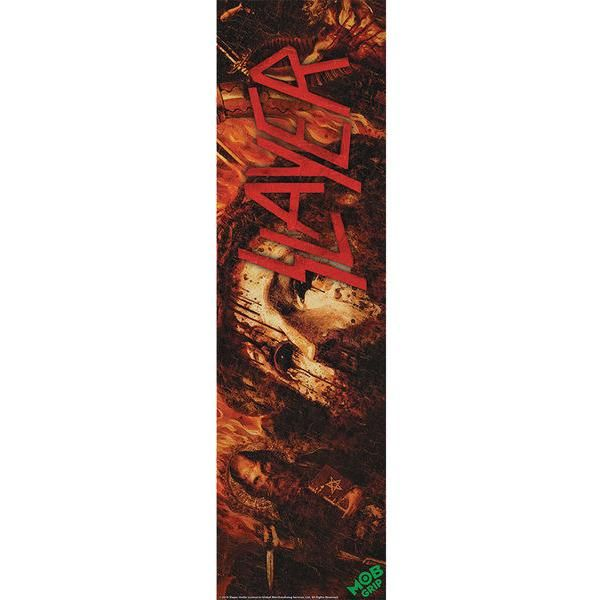 "Mob Slayer Repentless 9"" x 33"" Skateboard Grip Tape"