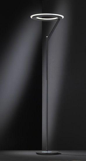 Stojací lampa LED WOFI WO 3505.01.24.0000 (CLARC) | Uni-Svitidla.cz Moderní #stojací #lampa se stmívačem a paticí LED pro světelný zdroj #modern #lamp #floorlamp #lamps #stojacilampy #lampy #design #professional #shades #dimmable