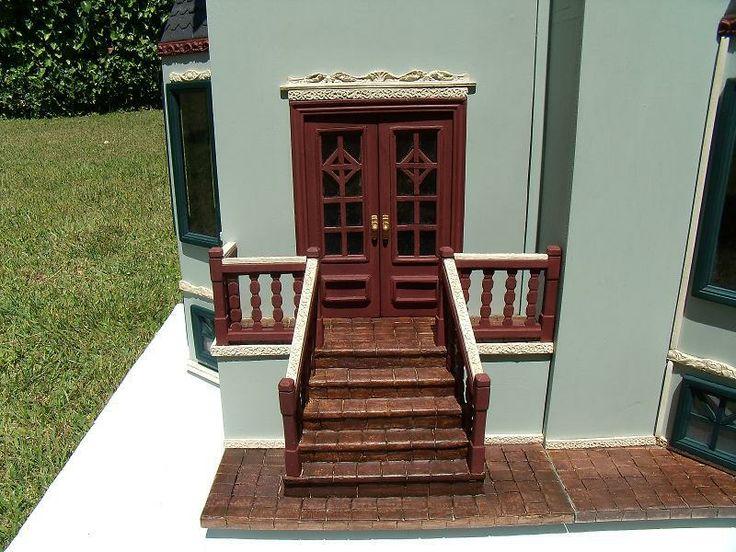 La entrada principal escaleras realizadas en barro te ido for Escaleras entrada casa