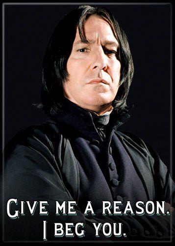 1 X Harry Potter - Professor Severus Snape - Refrigerator Magnet @ niftywarehouse.com #NiftyWarehouse #HarryPotter #Wizards #Books #Movies #Sorcerer #Wizard