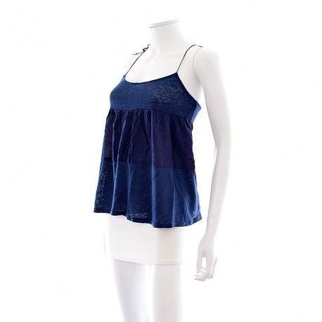Shoppez votre Top - Naf Naf - Taille: XS à -30% : état neuf, pour encore plus de réduction visitez notre site : www.entre-copines.be, livraison gratuite dès 45 € d'achats  ;)  Que pensez-vous de cet article ? merci pour le repin ;)  #Naf Naf #new #Taille: XS #mode #fashion #robes  #secondhand #clothes #recyclage #greenlifestyle #secondemain #depotvente #friperie #vetements #femmes