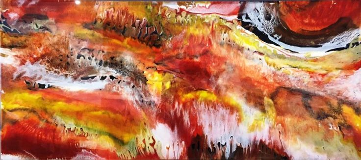 #ResinArtwork Interior Design Abstract Art Installation 120cm x 40cm Galaxy Art Lesson Technique #abstract #artwork created by #artist #Glenn #Farquhar owner of #ArtFusion #studio #Gallery www.artfusionprod... #Learn-how-to-Paint #artlessons buy #Interior-Design-Artworks