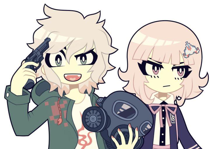 S Dangan Ronpa 2: Nagito Komaeda and Chiaki Nanami by nekozneko on DeviantArt