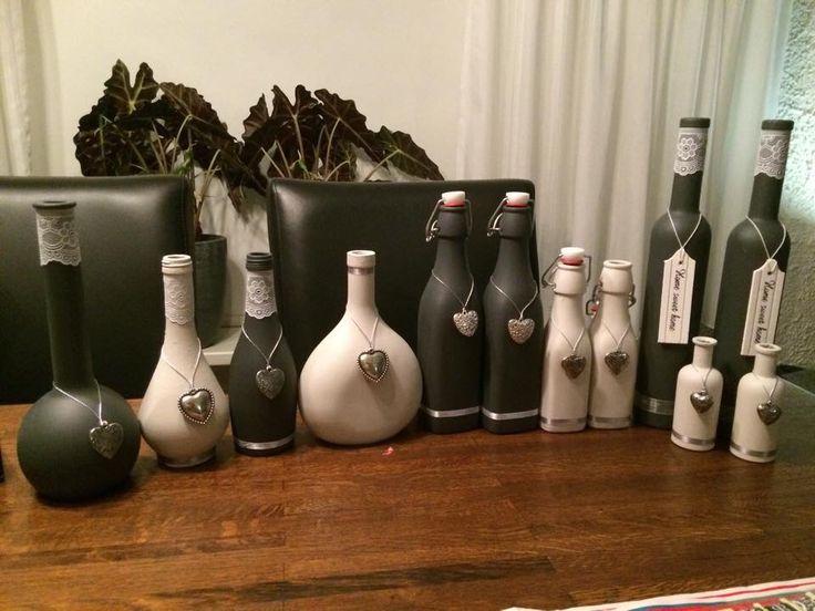 Zelfgemaakte flessen!