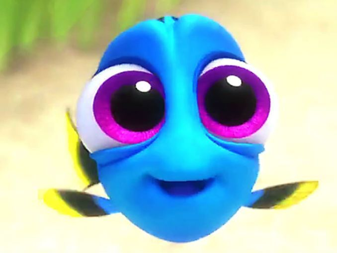 """¿Ya están listas para Buscando a Dory? Mientras esperamos a que se estrene la película les tenemos este clip en el que podemos ver a nuestra pez favorita cuando era bebé. ¡Una hermosura!  Las reto a verlo completo sin decir """"awww"""".   ¿No la aman?"""
